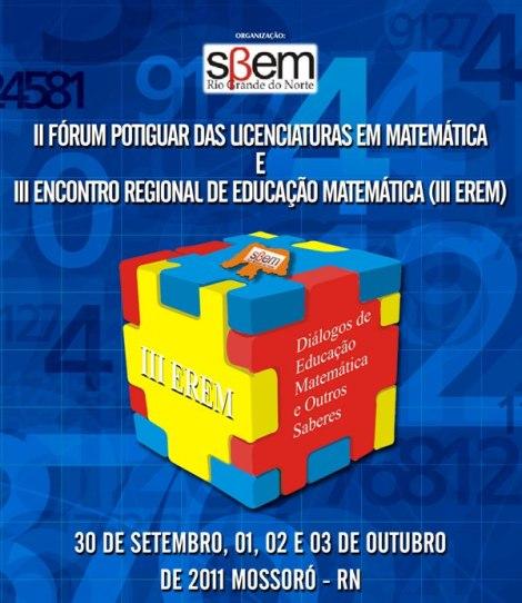 3º Encontro Regional de Educação Matemática